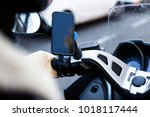 close up photo of motorcycle or ... | Shutterstock . vector #1018117444