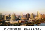 austin texas usa sunrise... | Shutterstock . vector #1018117660
