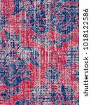 modern  vintage  ethnic  highly ... | Shutterstock . vector #1018122586