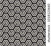 vector seamless lines mosaic... | Shutterstock .eps vector #1018123660