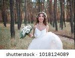 full length side view of one...   Shutterstock . vector #1018124089