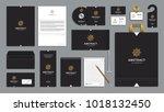 corporate identity branding... | Shutterstock .eps vector #1018132450