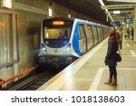 bucharest  romania   oct 06 ... | Shutterstock . vector #1018138603