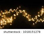 bokeh light background. ... | Shutterstock . vector #1018151278