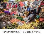stone town  tanzania   january... | Shutterstock . vector #1018167448