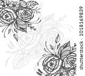 hand drawn background with...   Shutterstock .eps vector #1018169839