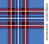 scottish cage  blue celtic.... | Shutterstock .eps vector #1018178014