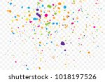 abstract color splash... | Shutterstock .eps vector #1018197526