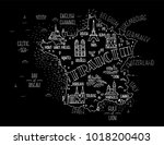 hand drawn vector illustration. ... | Shutterstock .eps vector #1018200403