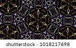Abstract Kaleidoscope Patterns...