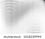 Abstract Monochrome Halftone...