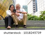 portrait of mature multi ethnic ...   Shutterstock . vector #1018245739