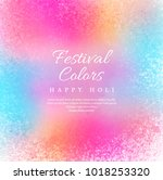 illustration of colorful happy... | Shutterstock .eps vector #1018253320