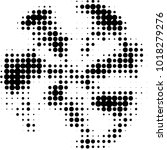 abstract grunge grid polka dot... | Shutterstock . vector #1018279276