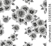 abstract elegance seamless... | Shutterstock . vector #1018300156