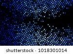 dark blue vector pattern with... | Shutterstock .eps vector #1018301014