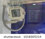 cctv camera with double... | Shutterstock . vector #1018305214