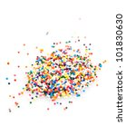 candy sprinkles in all the... | Shutterstock . vector #101830630