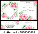 vintage delicate invitation... | Shutterstock .eps vector #1018308823