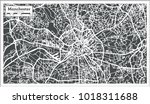 manchester england city map in... | Shutterstock . vector #1018311688