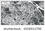 kanpur india city map in retro... | Shutterstock . vector #1018311700