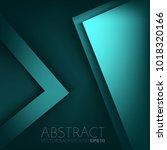 vector background overlap layer ... | Shutterstock .eps vector #1018320166