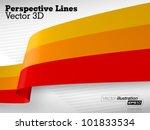 3d vector perspective lines | Shutterstock .eps vector #101833534