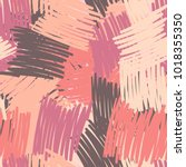 seamless pattern of multi... | Shutterstock .eps vector #1018355350