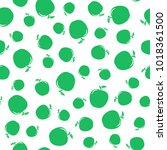 seamless pattern from green... | Shutterstock .eps vector #1018361500