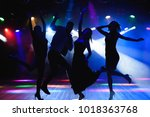 nightlife and disco concept.... | Shutterstock . vector #1018363768
