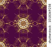 traditional orient ornament.... | Shutterstock . vector #1018369258