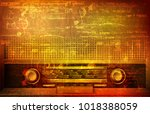 abstract brown grunge vintage... | Shutterstock .eps vector #1018388059