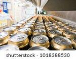 cover alumiunum cans. aluminum... | Shutterstock . vector #1018388530