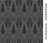 seamless black wallpaper pattern | Shutterstock . vector #1018409266