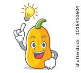 have an idea butternut squash... | Shutterstock .eps vector #1018410604