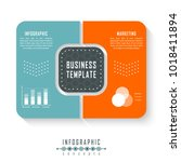 vector infographics template... | Shutterstock .eps vector #1018411894