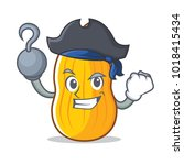 pirate butternut squash...   Shutterstock .eps vector #1018415434