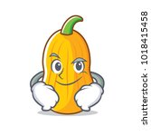 smirking butternut squash...   Shutterstock .eps vector #1018415458