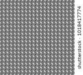 creative seamless pattern ... | Shutterstock .eps vector #1018417774