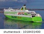 helsinki  finland   april 23 ...   Shutterstock . vector #1018431400
