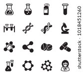 solid black vector icon set  ... | Shutterstock .eps vector #1018451260
