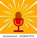vintage vector illustration of... | Shutterstock .eps vector #1018467376