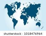 political world map   Shutterstock .eps vector #1018476964