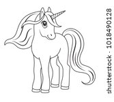 Sketch Of A Unicorn For...