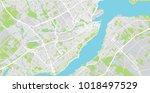 Urban Vector City Map Of Quebec ...