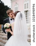 european wedding in an old... | Shutterstock . vector #1018498996