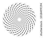 circle design element. abstract ... | Shutterstock .eps vector #1018499194