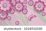 illustration of beautiful... | Shutterstock .eps vector #1018510330