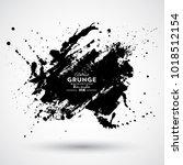 grunge splash banner   Shutterstock .eps vector #1018512154