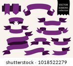 vector collection of decorative ... | Shutterstock .eps vector #1018522279